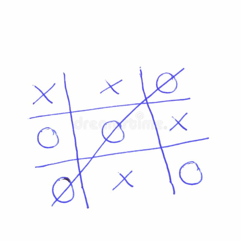 Download Tic tac toe stock photo. Image of business, draw, game - 14599434