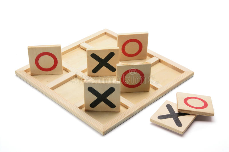 Download Tic-tac-toe stock image. Image of recreation, wood, wooden - 16978565