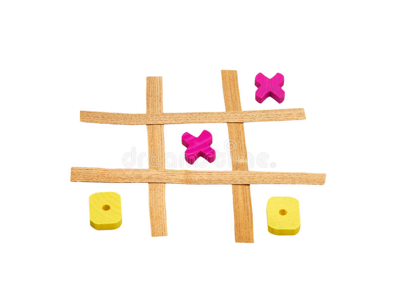 Download Tic Tac Toe stock image. Image of lose, challenge, wooden - 18296945