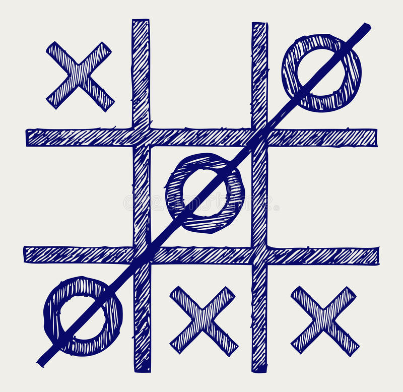 Tic Tac Toe Stock Photos