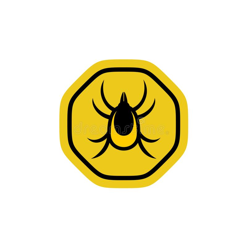 Tick Insect Vector illustrazione vettoriale