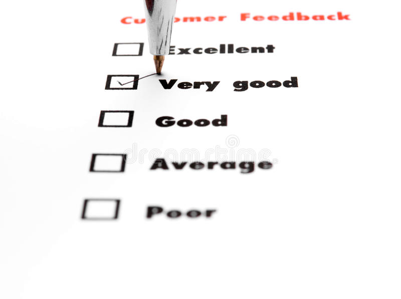 Tick placed you select choice. excellent,very good,good,average. Poor - check very good stock images
