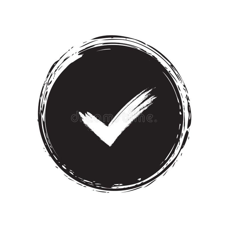 Tick sign element vector illustration