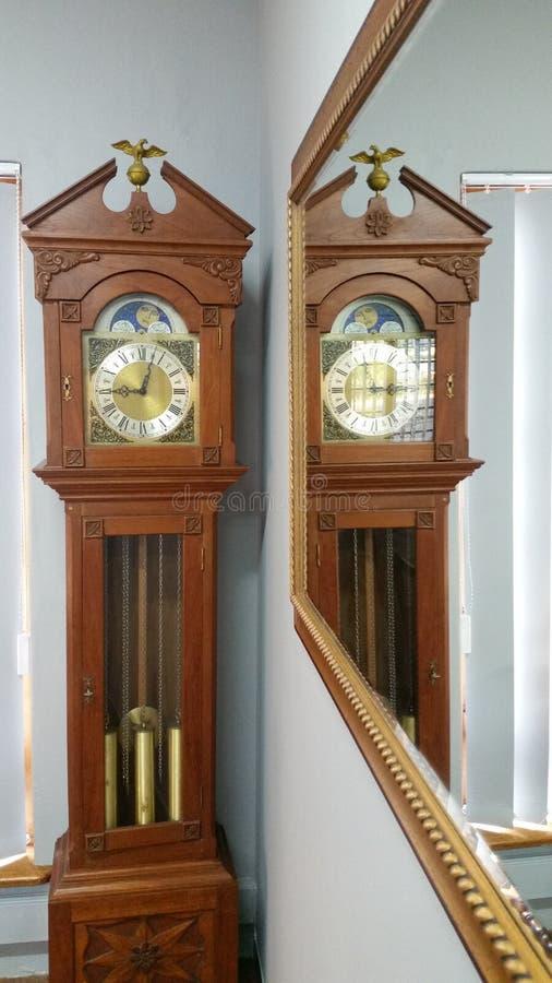 Tick Tock Grandfather Clock royalty free stock photos