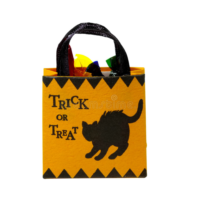 Tick or Treat royalty free stock image