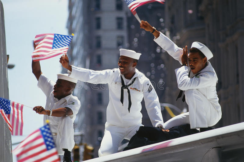 Download Ticker Tape Parade editorial stock photo. Image of african - 23160578