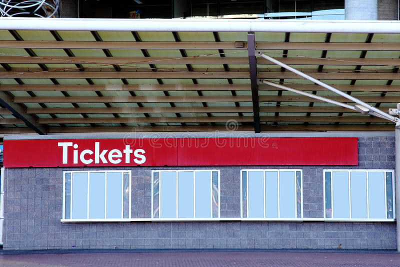 Download TICKET BOOTH stock image. Image of booth, match, football - 24962789