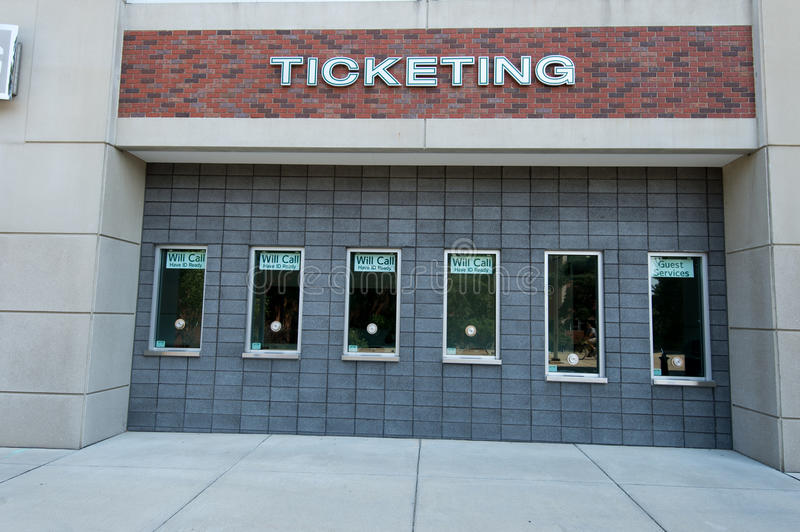 MSU Ticket Booth Editorial Photography
