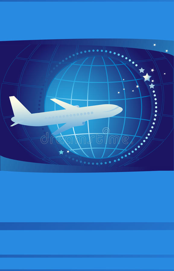 Download Ticket On International Airlines Stock Image - Image: 21465661