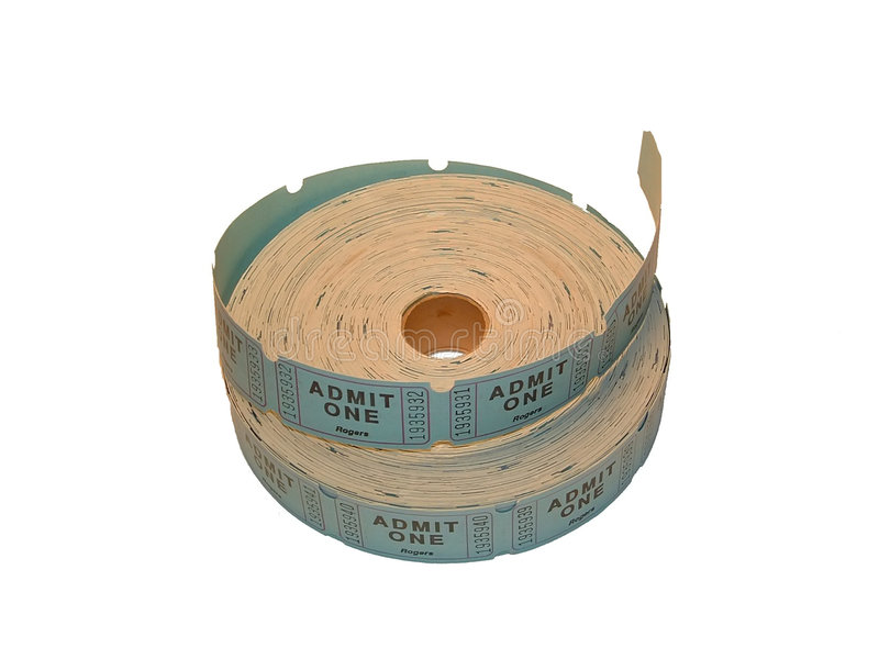 Download Ticket roll stock image. Image of roll, admission, tear - 148731
