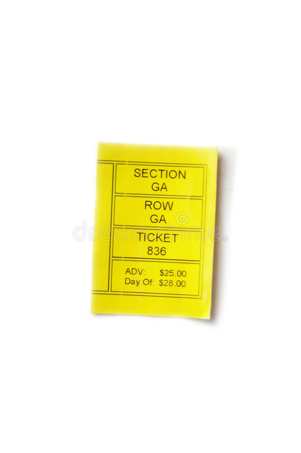 Download Ticket stub stock image. Image of ticket, purchase, event - 12102775
