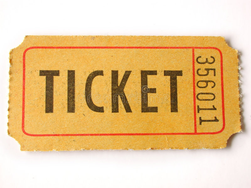 Download Ticket stub stock image. Image of entertainment, background - 559697