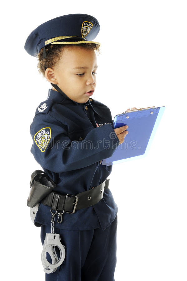 Download Ticket Writing Cop stock photo. Image of badge, person - 27375424
