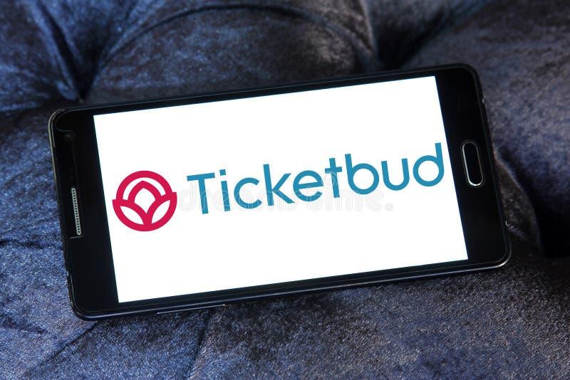 Ticketbud-Firmenlogo lizenzfreie stockfotografie