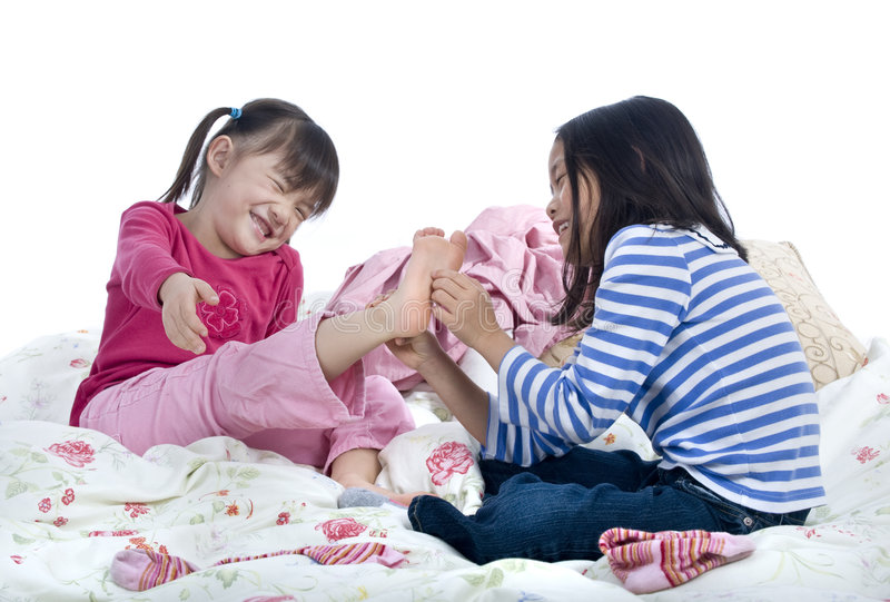 Samus Feet Tickle: Tickle Toes Stock Photo. Image Of Toes, Asian, Isolated