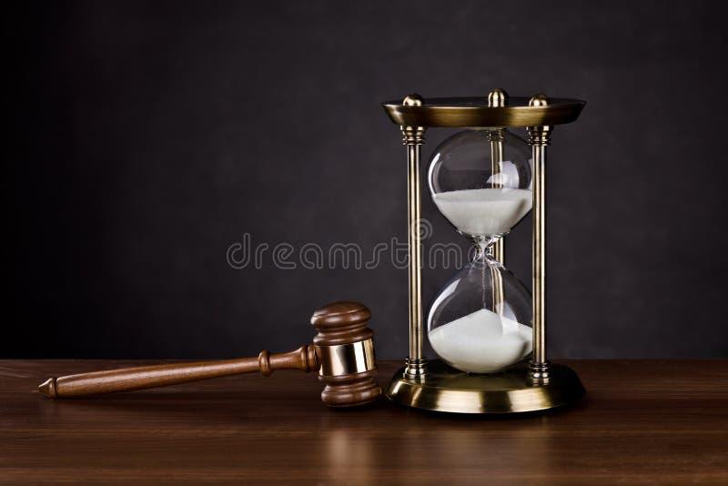 tid för laglig service arkivbilder