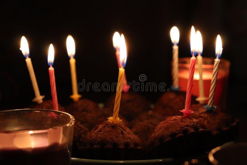 Tid för parti för lycklig födelsedag lycklig bra royaltyfria foton