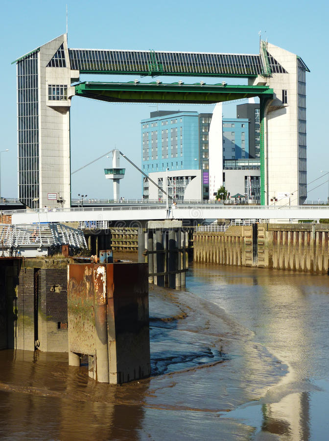 Tidal Barrier Royalty Free Stock Photography