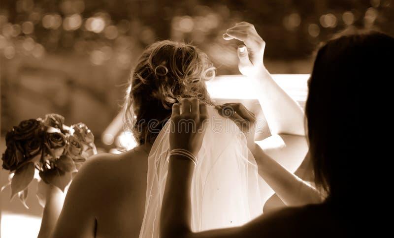 tidbröllop royaltyfri foto
