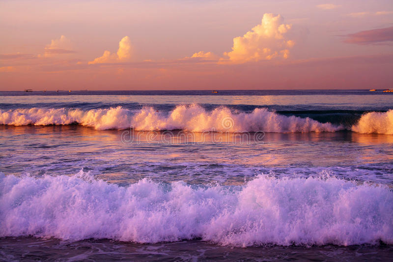 Tide. Beautiful tide is rolling in forward royalty free stock photo