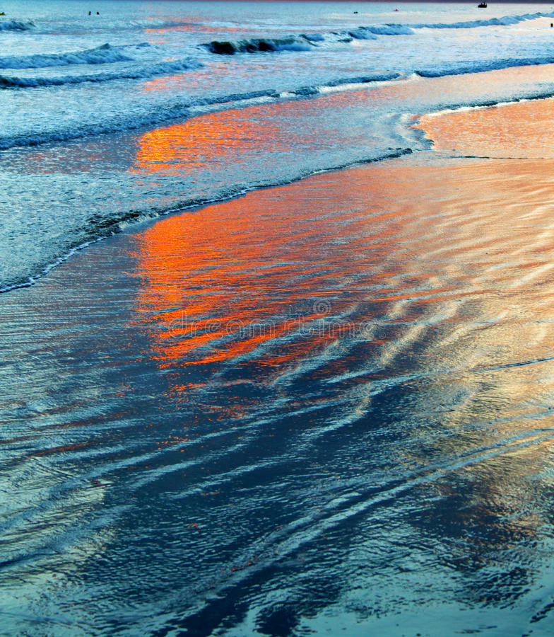 Tide. The tide is very beautiful royalty free stock images