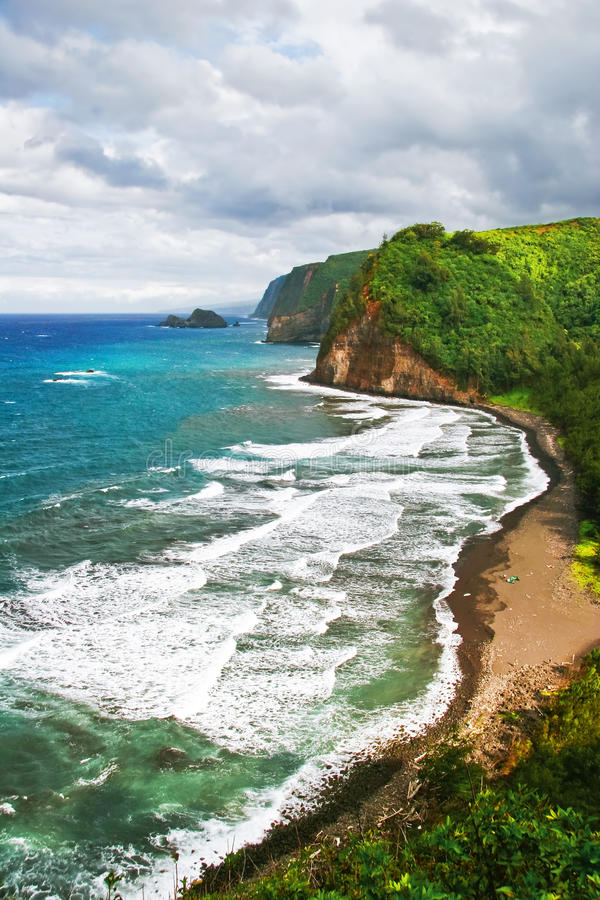 Download Tide of the ocean stock image. Image of destination, america - 10607347