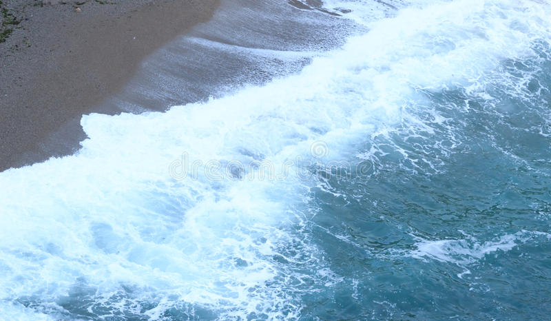 Tide wave stock photography