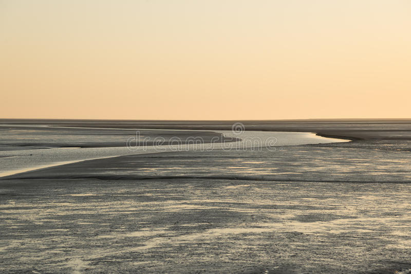 Tideland At The Northsea Royalty Free Stock Images