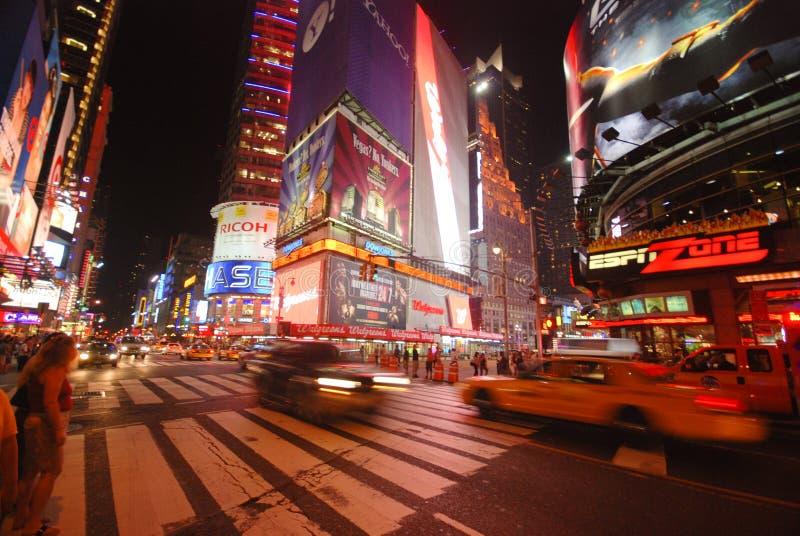 Tider kvadrerar - New York City arkivbilder