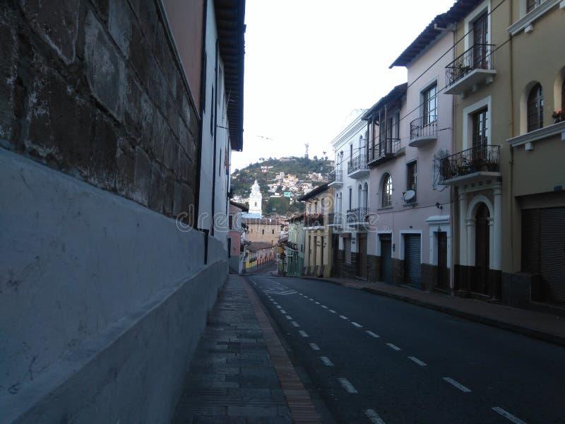Tidig Quito royaltyfri bild