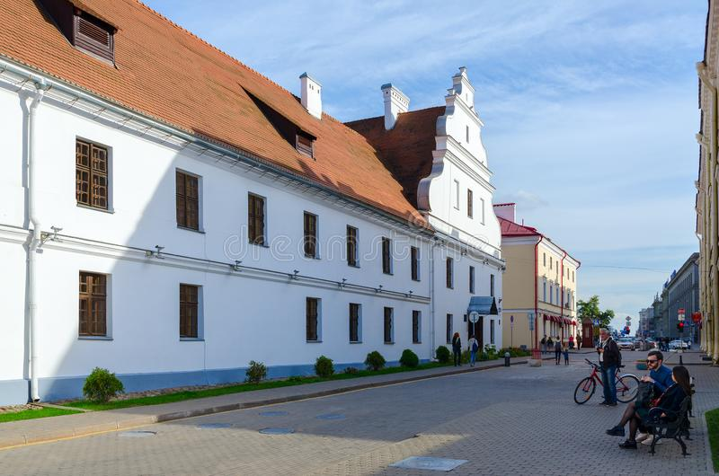 Tidigare Basilian kloster, Minsk, Vitryssland arkivfoton