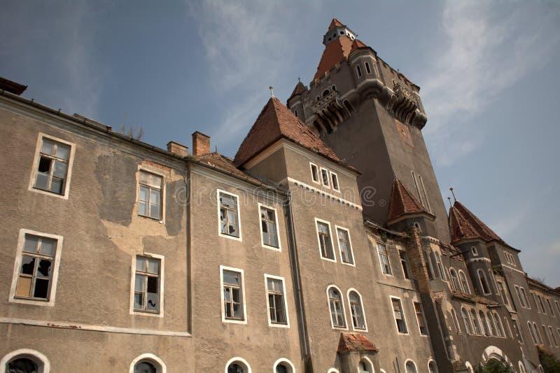 Tidigare högkvarter av den sovjetiska armébasernas, Hajmasker, Ungern royaltyfri fotografi
