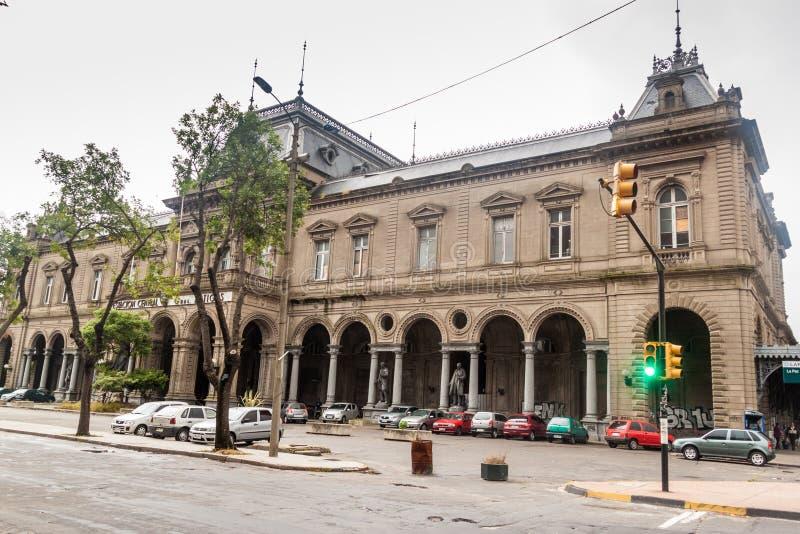 Tidigare huvudsaklig drevstation av Montevideo fotografering för bildbyråer