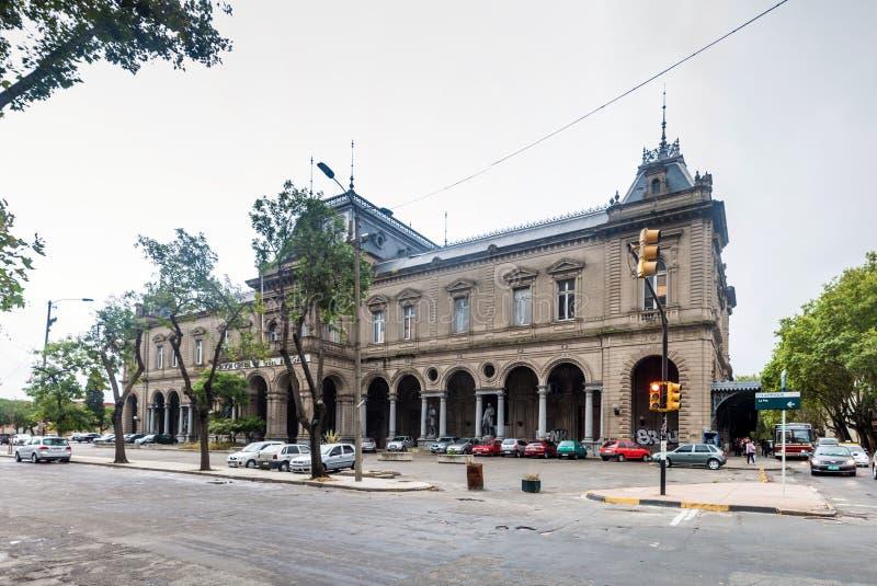 Tidigare huvudsaklig drevstation av Montevideo arkivfoto