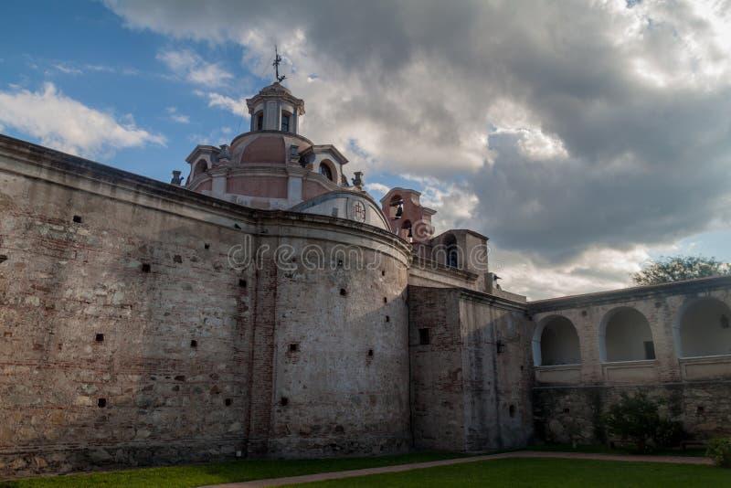 Tidigare jesuitbeskickning i Alta Gracia arkivbild