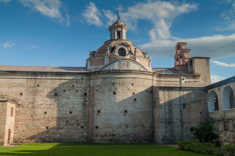 Tidigare jesuitbeskickning i Alta Gracia arkivfoton