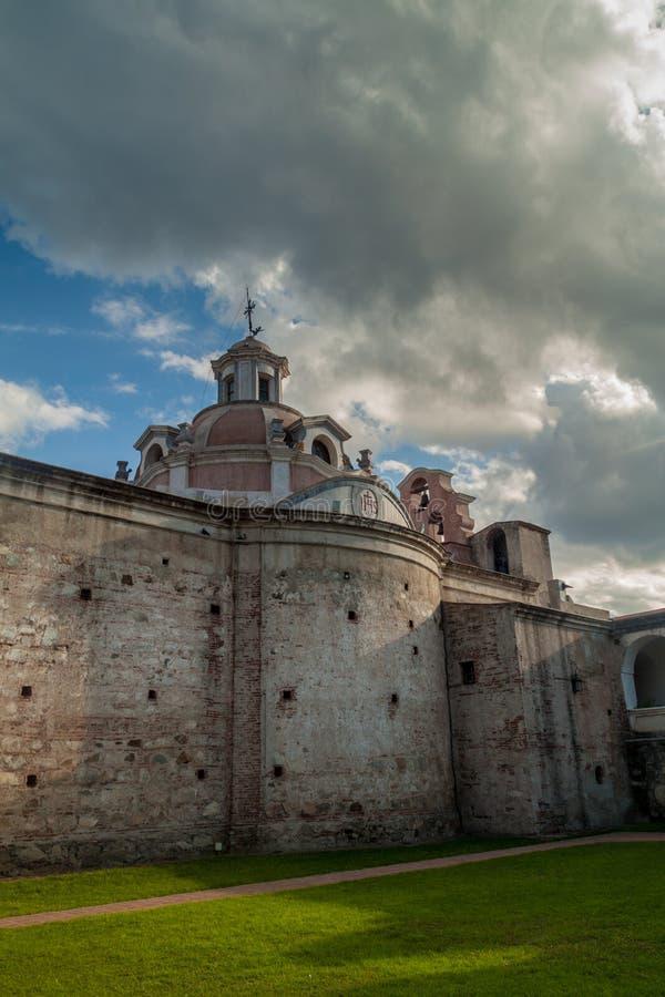 Tidigare jesuitbeskickning i Alta Gracia arkivfoto