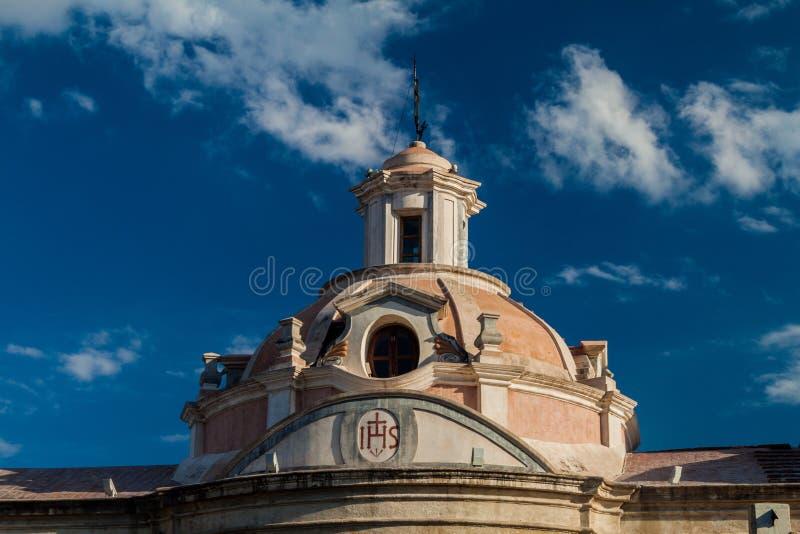 Tidigare jesuitbeskickning i Alta Gracia fotografering för bildbyråer