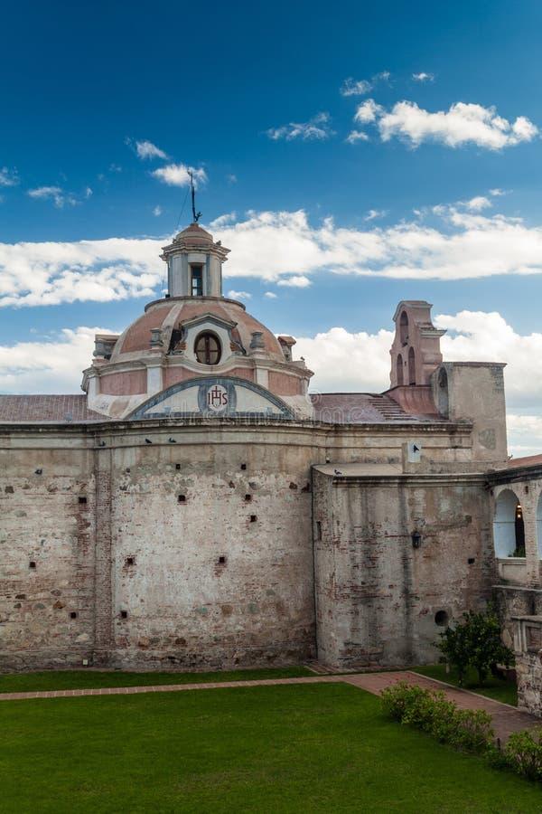 Tidigare jesuitbeskickning i Alta Gracia royaltyfria bilder