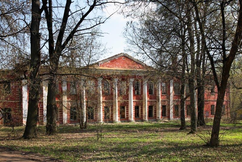 Tidigare sjukhus i Tver Ryssland arkivbilder