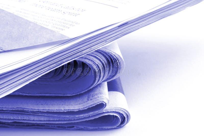 tidningar royaltyfria foton