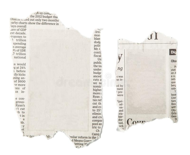 Tidningsbakgrundtextur, affärsbakgrund arkivbild