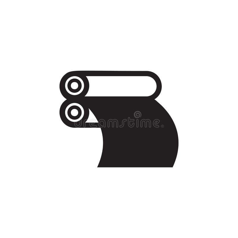 tidningsprintingsymbol Beståndsdel av illustrationen för printinghus Högvärdig kvalitets- symbol för grafisk design tecken och sy royaltyfri illustrationer