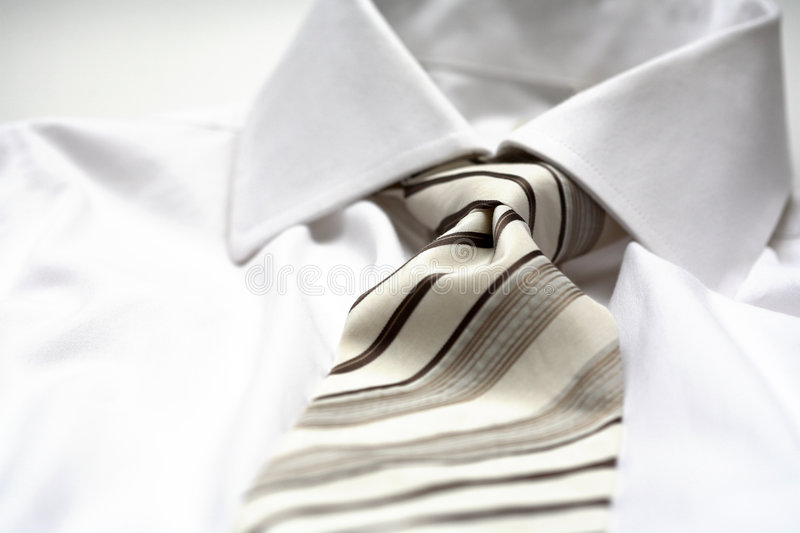Download Tie stock image. Image of detail, dress, white, dresscode - 1652673