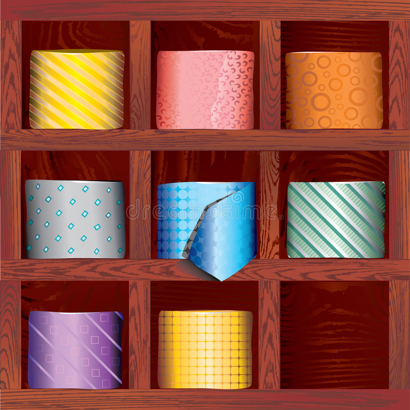 Download Tie stock vector. Image of retail, fashion, conservative - 3527304