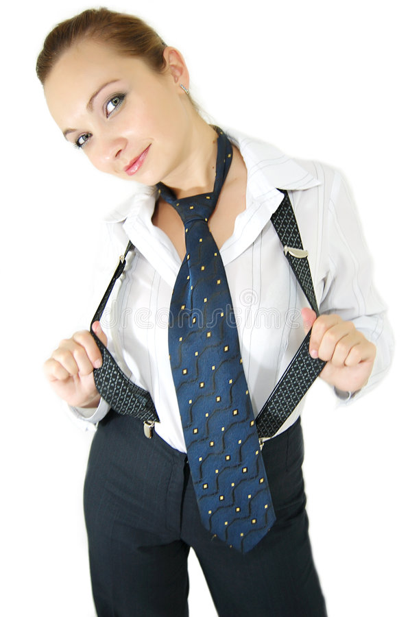 Free Tie Ans Suspenders Royalty Free Stock Photography - 4270727