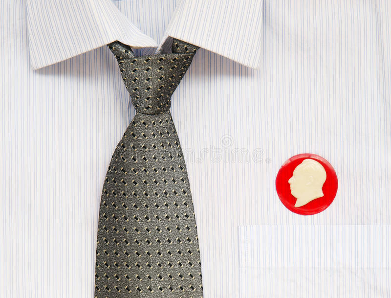 Download Tie and badges stock illustration. Image of necktie, cotton - 26532791