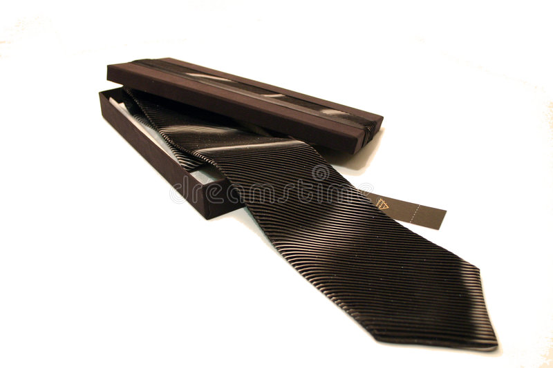 Tie BLACK royalty free stock image