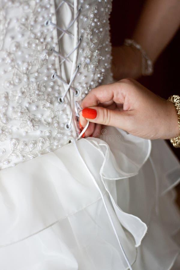 Tie A Corset Back Wedding Dress Free Public Domain Cc0 Image