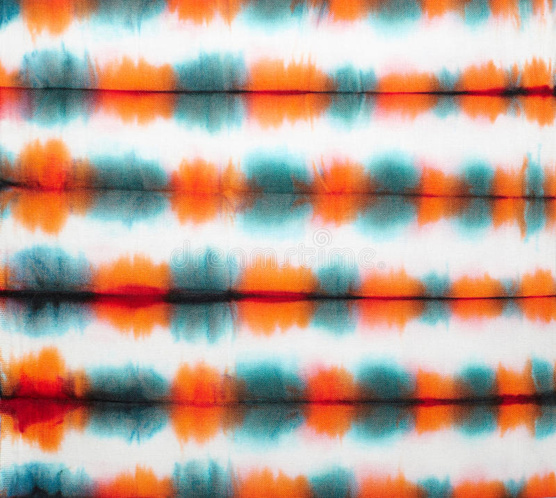 Tie dye. Abstract tie dyed fabric background stock photos